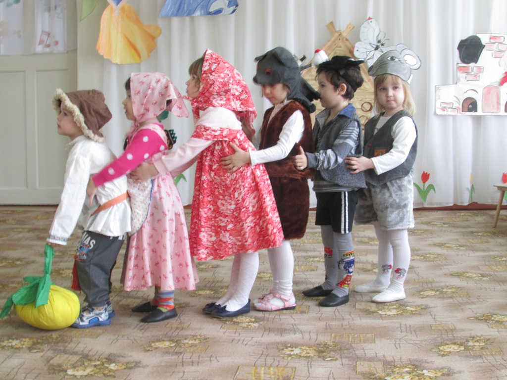Сделать кукольный театр репка 67